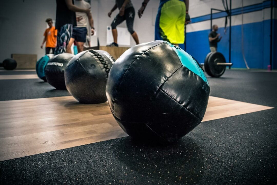 CrossFit Programs, medicine balls for high intensity interval training workouts