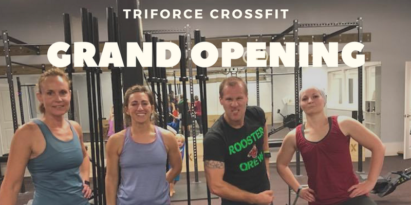 TriForce CrossFit Grand Opening January 4th St Augustine