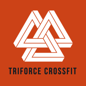 Triforce-crossfit-logo-physical-therapy-crossfit-and-nutrition-Orange-Square