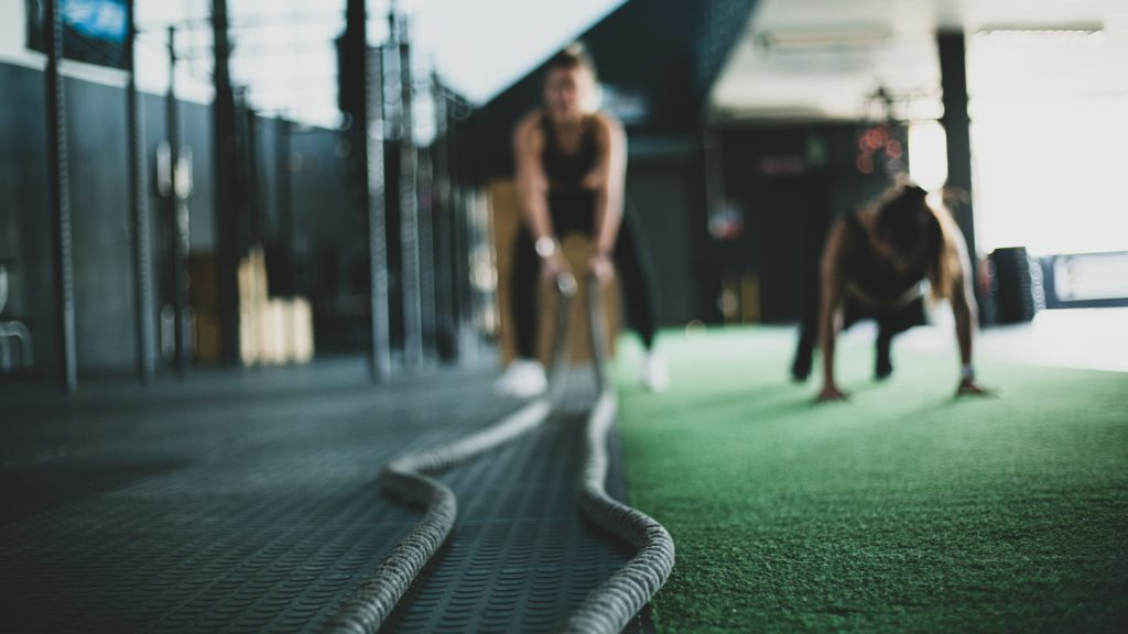 TriForce fitness positive values through rope workouts.